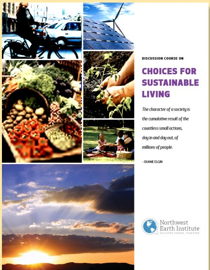Northwest Earth Institute - Choices for Sustainable Living